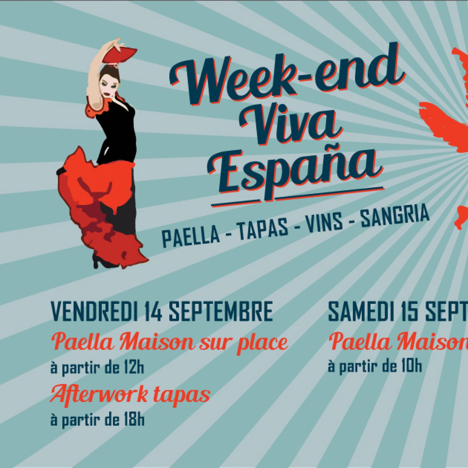Week-end Paella, 14 et 15/09
