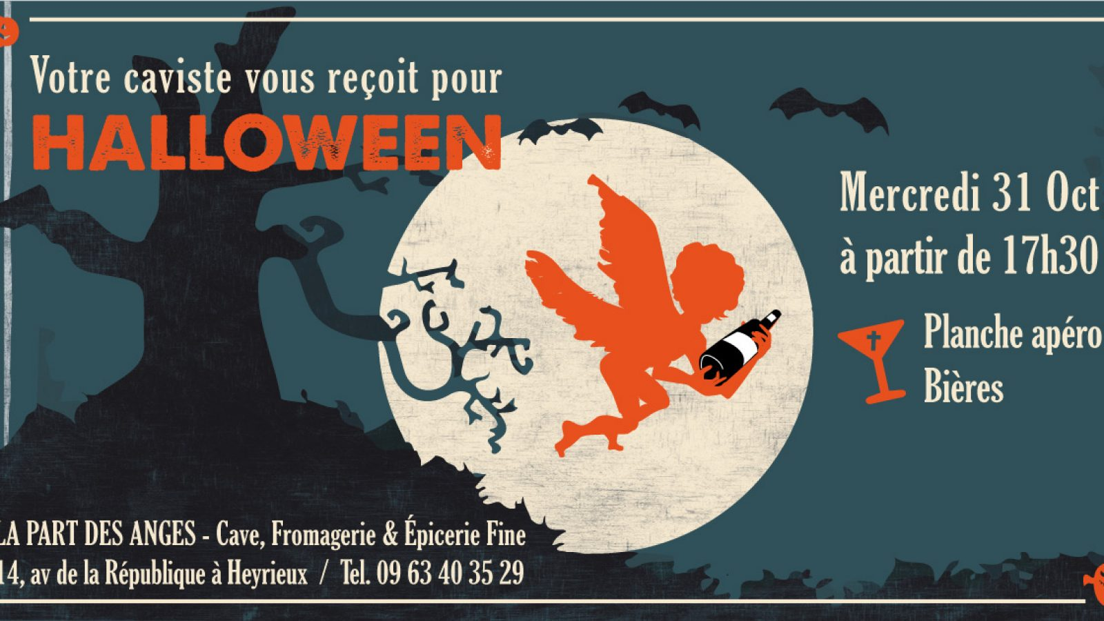 Halloween Part des Anges